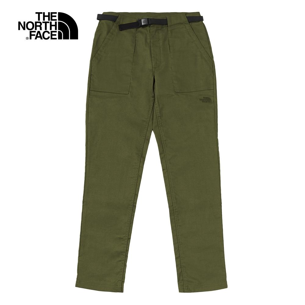 The North Face北面女款綠色舒適透氣休閒褲|4NBF7D6