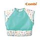 【Combi】Combimini 短袖食事圍兜- 長頸鹿(草原綠) (L) product thumbnail 1