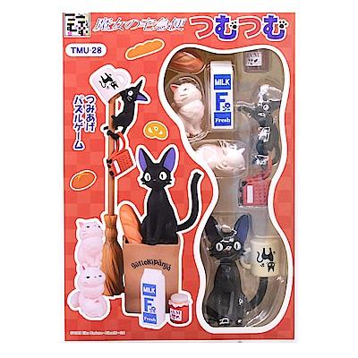 日版TMU-28 魔女宅急便疊疊樂平衡遊戲組 玩具