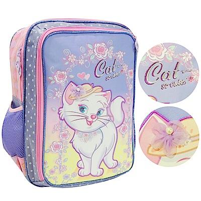 【MAXPERO】花園貓咪15吋 後背書包 (MCT117) -歐系後背包