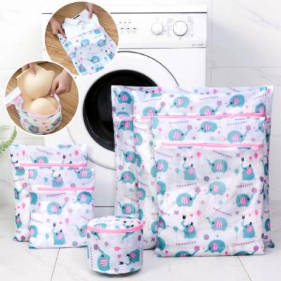 [時時樂限定]EZlife防變形洗衣袋6件組(贈小鹿無痕置物架)