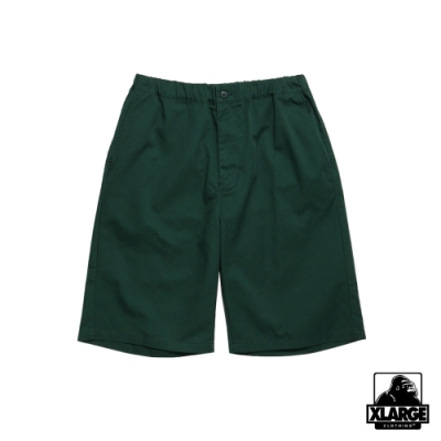 XLARGE WORK EASY SHORT PANTS 鬆緊工作短褲-綠