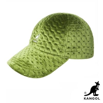 KANGOL-DASH 紋路棒球帽-綠色