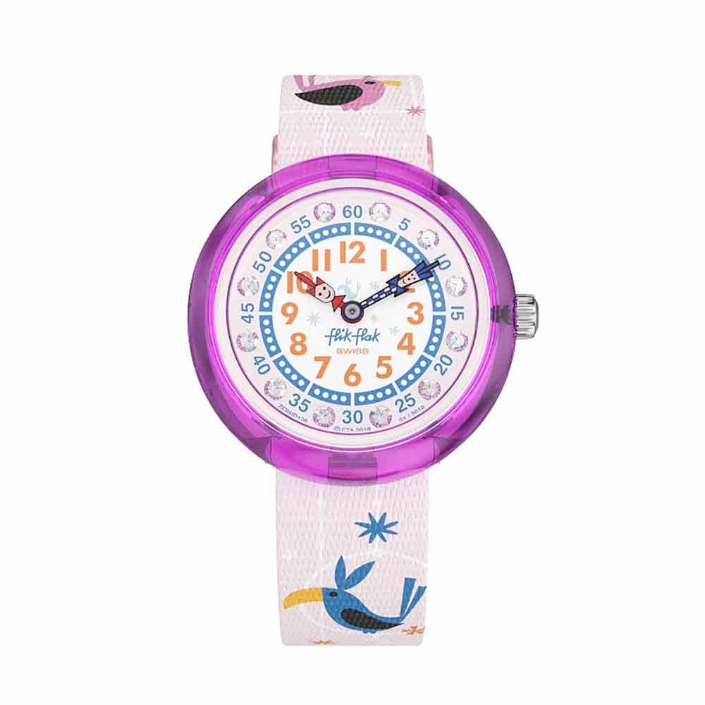 FlikFlak 兒童錶 CIRCUS BIRDS 馬戲團小鳥