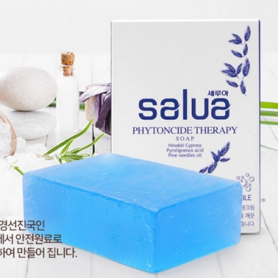 韓國 salua 純天然手工扁柏木精油皂 敏感肌適用