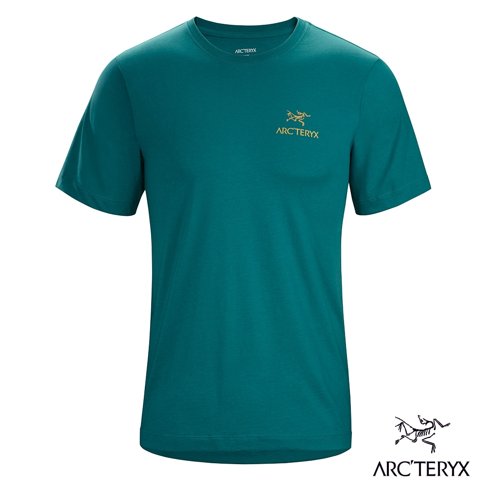 Arcteryx 始祖鳥 男 24系列 Emblem 有機棉 短袖Tee 模範綠