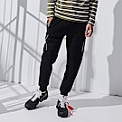 CACO-剪接款刷毛棉褲-情侶款(兩色)-男【QNC044】