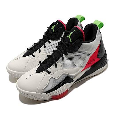 Nike 籃球鞋 Jordan Zoom 92 運動 男鞋 氣墊 避震 喬丹 包覆 支撐 球鞋 米白 黑 CK9183100