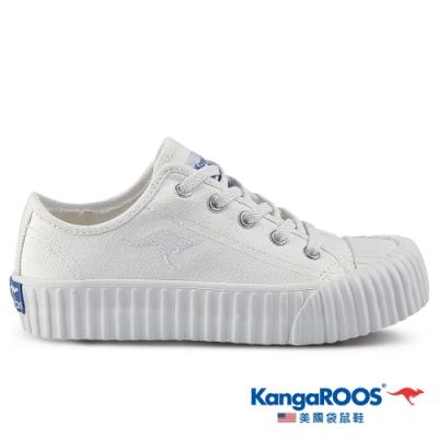 KangaROOS 美國袋鼠鞋 童鞋 CRUST 甜點手工餅乾鞋/休閒鞋(白-KK11389)