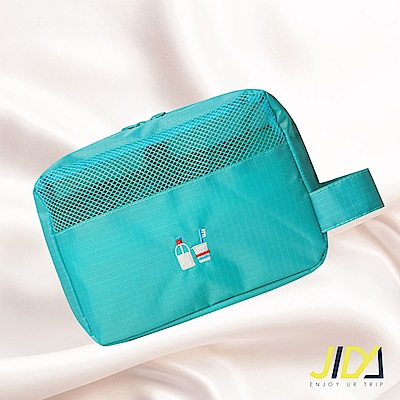 【暢貨出清】JIDA 時尚輕旅行純色系可吊掛漱洗收納包(4色)
