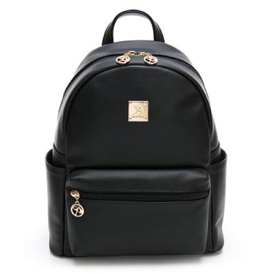 Arnold Palmer- 雙肩後背包-黑色