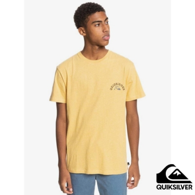 【QUIKSILVER】FOREIGN TIDES SS T恤 黃色