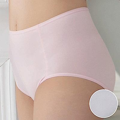 華歌爾-海藻冰涼M-3L高腰三角內褲(岩石灰)涼感親膚-包臀透氣