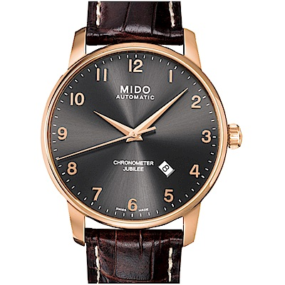 MIDO美度BARONCELLI JUBILEE天文台機械錶M0376083606200