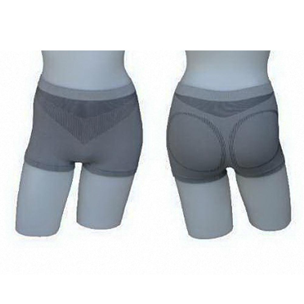 三合豐 ELF 女性竹炭低腰四角平口內褲-4件