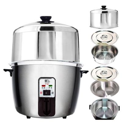 天蠶10人份不鏽鋼電鍋YL-10AA7(304不鏽鋼加高電鍋蓋+內鍋及鍋蓋+懸空內鍋鍋蓋)