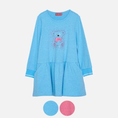 WHY AND 1/2 普普熊棉質萊卡洋裝 5Y~10Y 多色可選