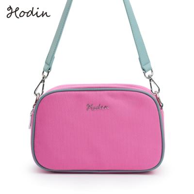 【Hodin】Daily雙開口相機包/斜背包(粉色153028PN)