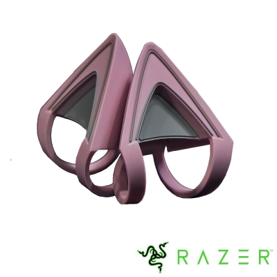 Razer Kraken Quartz Kitty Ears 北海巨妖專用貓耳朵(粉)