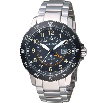CITIZEN星辰PROMASTER前瞻領向光動能腕錶(BJ7094-59E)-黑