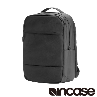 Incase City Backpack with 1680D 16吋 雙層筆電後背包-黑