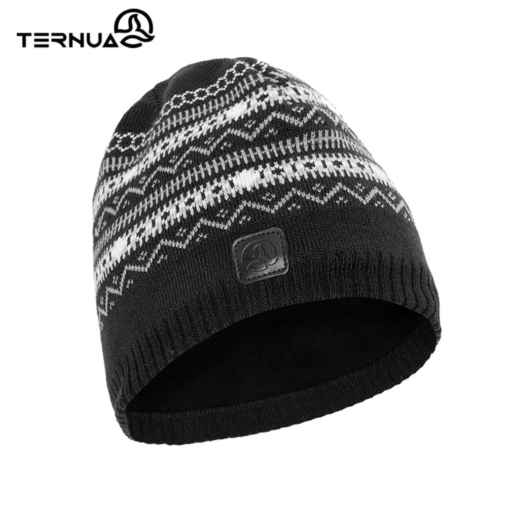 TERNUA 美麗諾保暖毛帽2661657【黑色】
