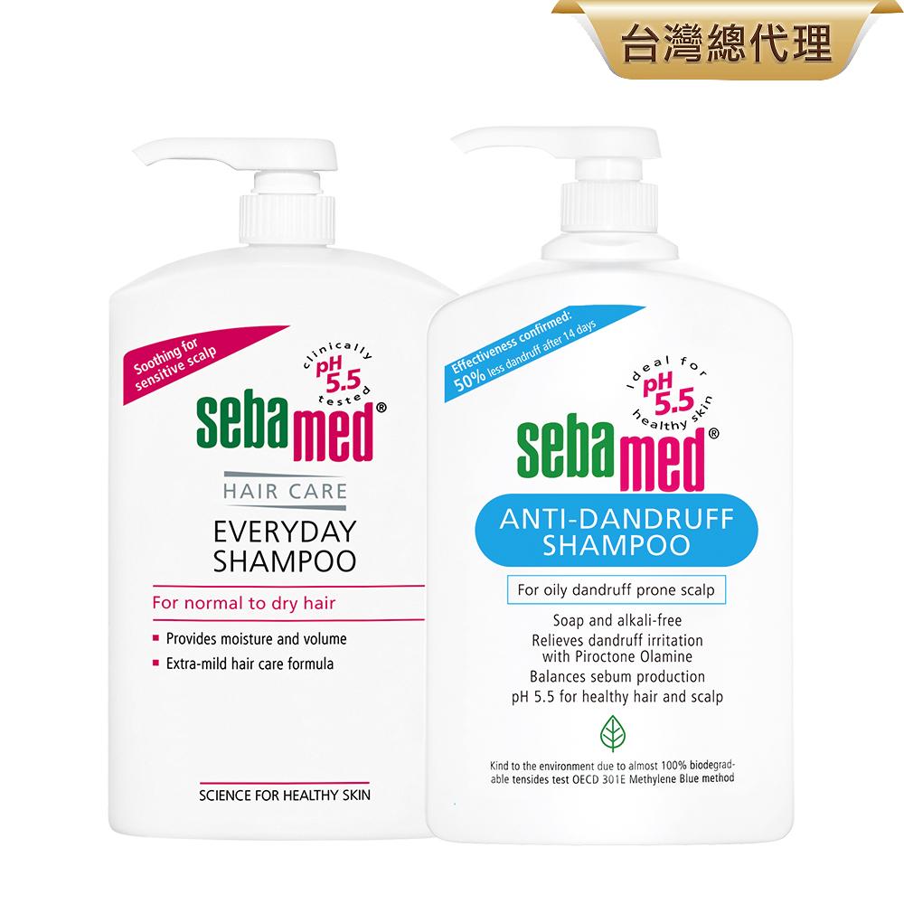 (2入組)sebamed施巴 洗髮乳1000ml