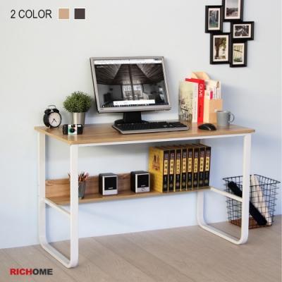 【RICHOME】克里斯工作桌(2色)120x60x73
