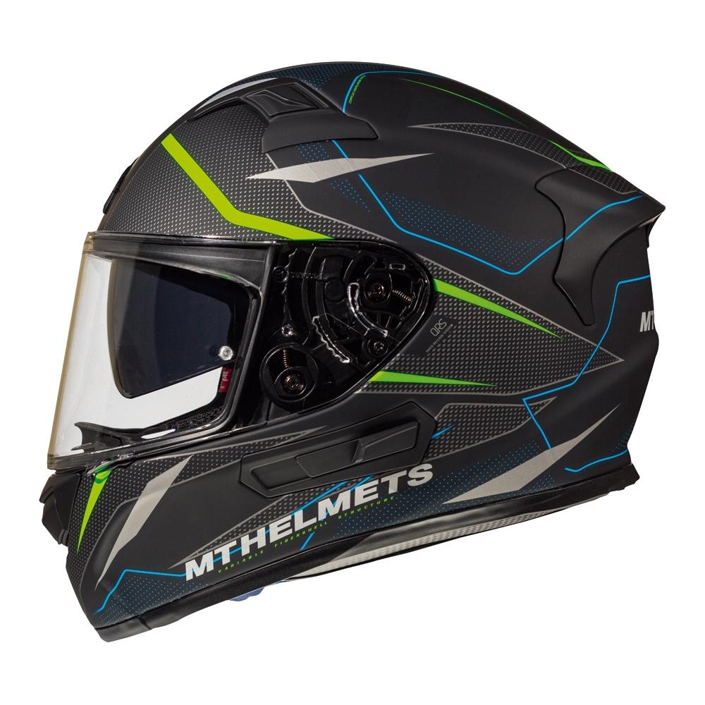 MTHELMETS MT安全帽 KREsv INTREPID系列 C1消光黑綠