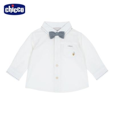 chicco- 浣熊學士-附領結長袖襯衫