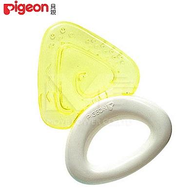 【任選】日本《Pigeon 貝親》冰涼固齒器【三角型】