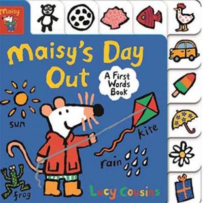 Maisy s Day Out 小鼠波波的戶外活動硬頁學習書(美國版)