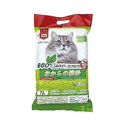 ECO艾可 豆腐綠茶貓砂 7L-六包組