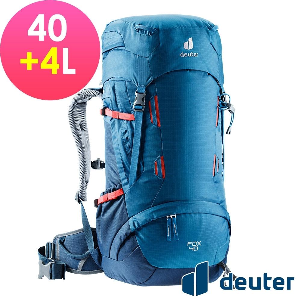 【deuter 德國】FOX 40+4L拔熱背包3611221藍/深藍/登山健行包/休閒旅遊包/青少年適用*