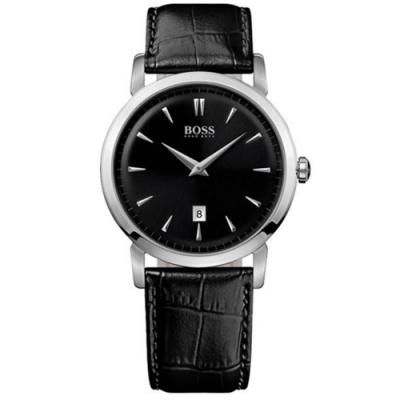 Hugo Boss Black簡約流線時尚錶/H1512637