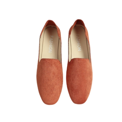 韓國KW美鞋館-(現貨)果色繽紛英倫風懶人鞋(共1色)