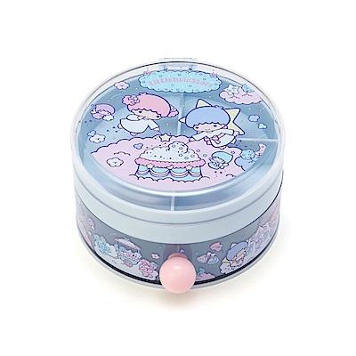 Sanrio 雙星仙子圓型樹脂飾品收納盒(棉花糖樂園)