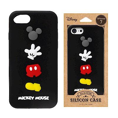 iPhone 8/7 迪士尼 正版授權 可愛/矽膠 手機軟殼 4.7吋-米奇