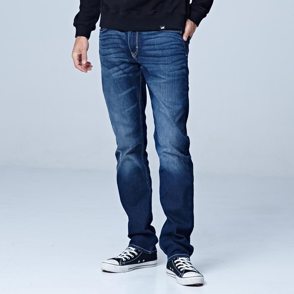 中腰舒適小直筒牛仔褲/UR @ Y!購物
