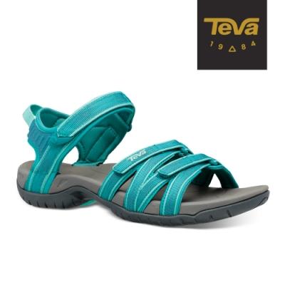 【TEVA】原廠貨 女 Tirra 水陸多功能運動涼鞋/雨鞋/水鞋(水綠色-TV4266HTLB)