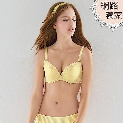 瑪登瑪朵-Soft Life簡約內衣  B-E罩杯(小麥黃)