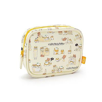 Sanrio 可樂鈴好朋友系列PU皮革大容量面紙化妝包