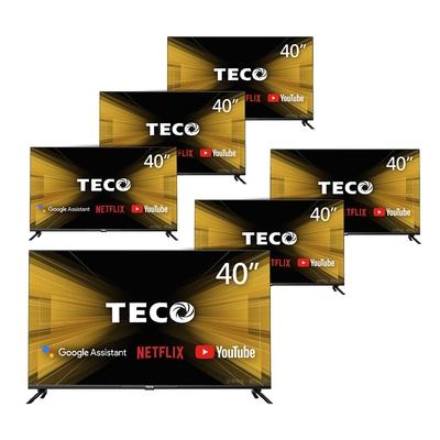 【六台超值組】TECO東元 40吋 HDR Google認證Android9.0連網液晶顯示器 TL40A2TRE
