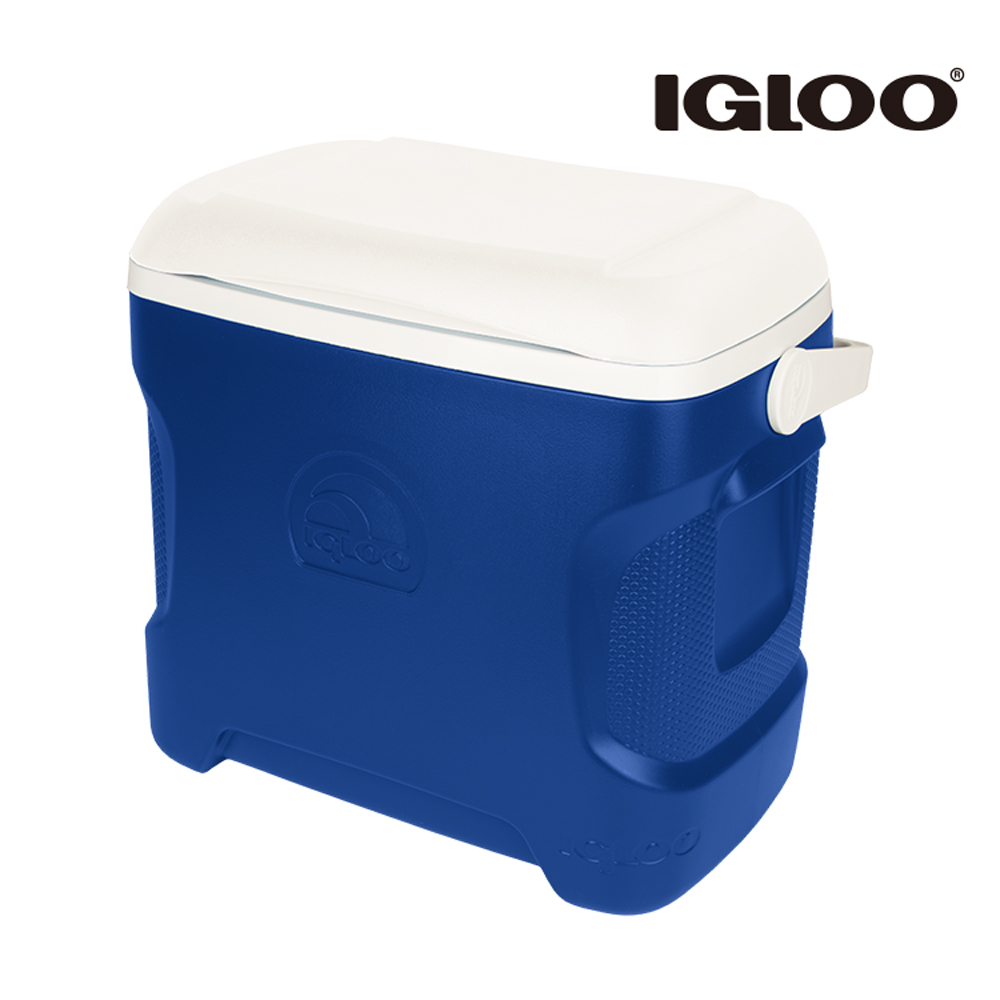 IGLOO CONTOUR系列30QT冰桶44642(44643) 藍色