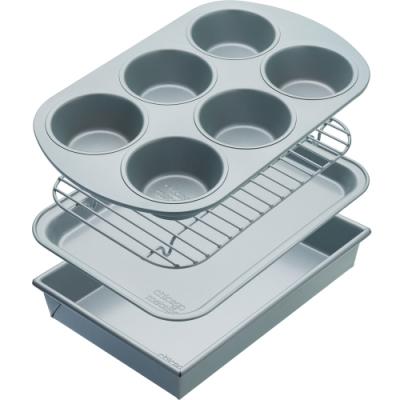《KitchenCraft》烤盤烤架4件