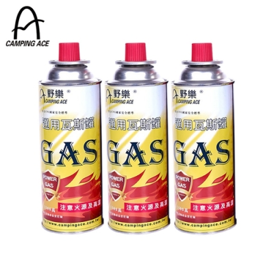CAMPING ACE 野樂 ARC-9100 卡式通用瓦斯罐(3入/組)