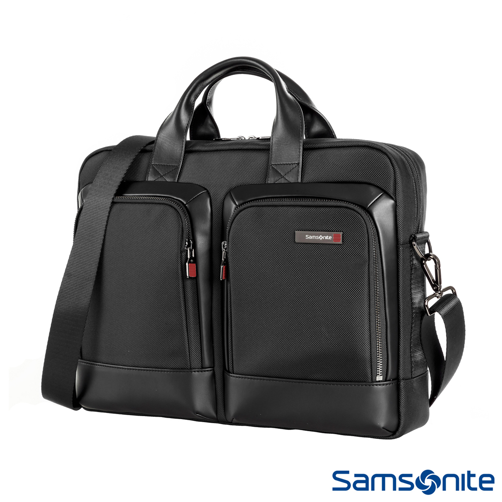 Samsonite新秀麗 Sefton商務筆電公事包S 14 (黑)