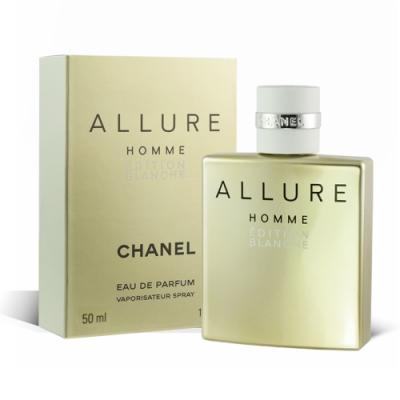 CHANEL 香奈兒 ALLURE 白色時尚男性香水 50ml