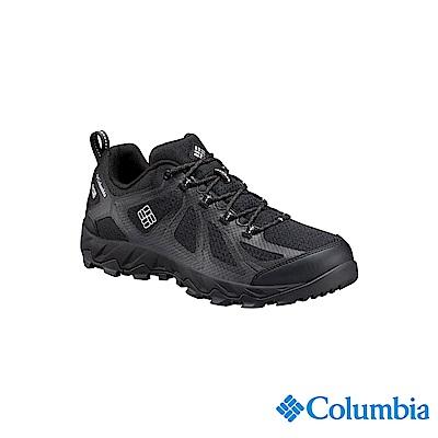 Columbia 哥倫比亞 男款-鈦OD防水健走鞋-黑色UBM17620BK