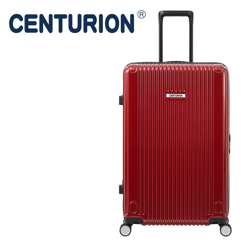 CENTURION百夫長27吋行李箱─紐約紅JFK(拉鍊箱)